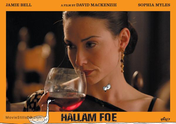 Hallam Foe - Lobby card with Claire Forlani