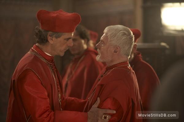 The Borgias - Publicity still of Jeremy Irons & Derek Jacobi
