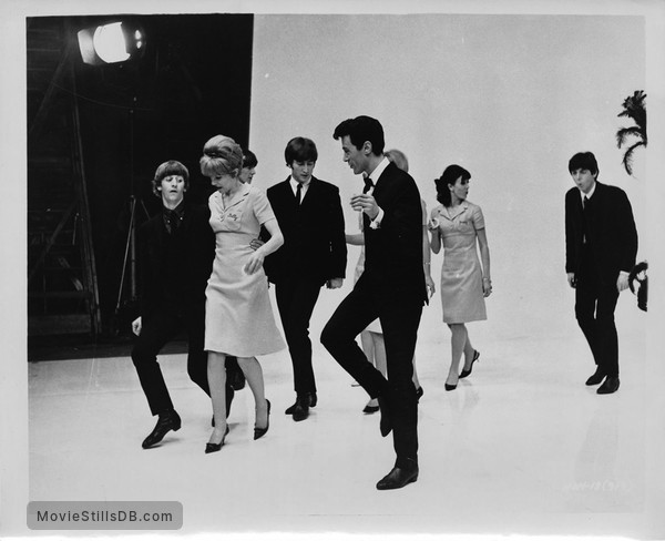 A Hard Day's Night - Publicity still of Ringo Starr, George Harrison, John Lennon & Paul McCartney