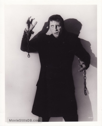 The Curse of Frankenstein - Publicity still of Christopher Lee