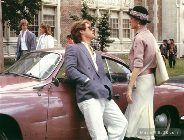 Pretty in Pink - Publicity still of James Spader & Molly Ringwald