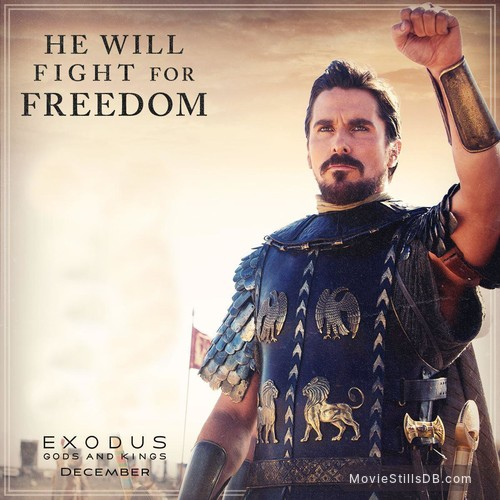 Exodus Gods And Kings Wallpaper With Christian Bale