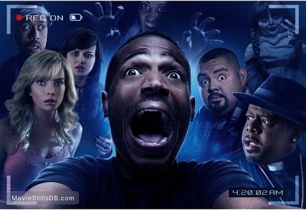 A Haunted House 2 - Promotional art with Marlon Wayans, Jaime Pressly, Ashley Rickards, Gabriel Iglesias & Cedric the Entertainer