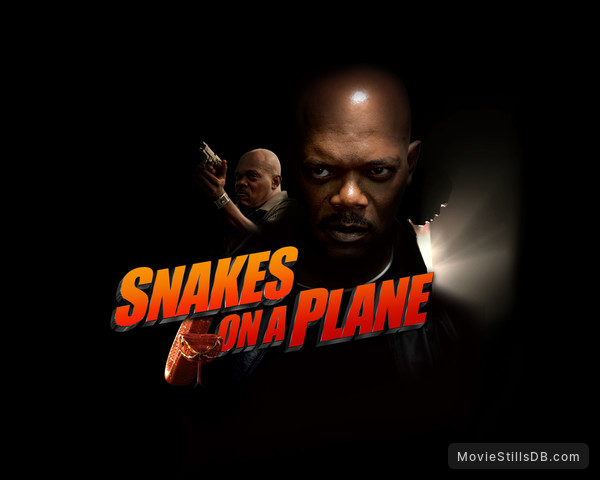 Snakes On A Plane - Wallpaper with Samuel L. Jackson