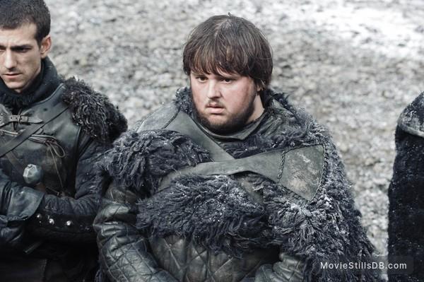 Game of Thrones - Publicity still of John Bradley & Josef Altin
