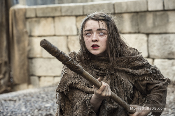 Game of Thrones - Publicity still of Maisie Williams