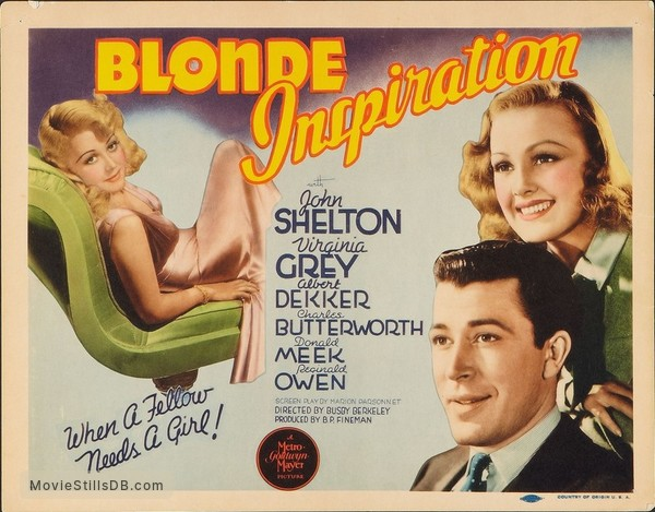 Blonde Inspiration - Lobby card