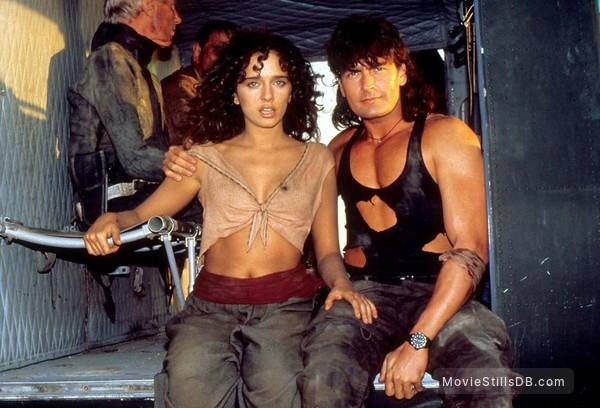 Hot Shots! Part Deux - Publicity still of Charlie Sheen & Valeria Golino