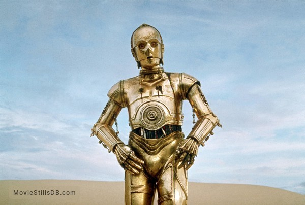 Star Wars - Publicity still of Anthony Daniels