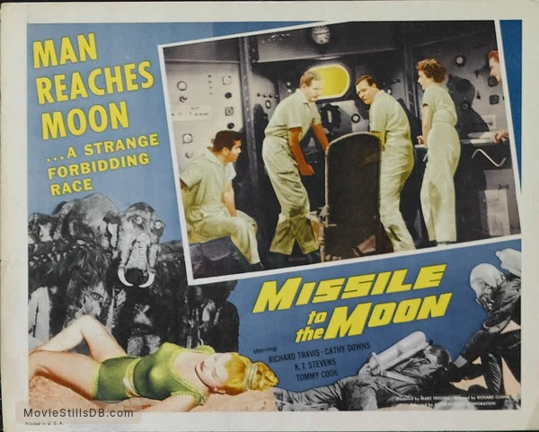 Missile to the Moon - Lobby card