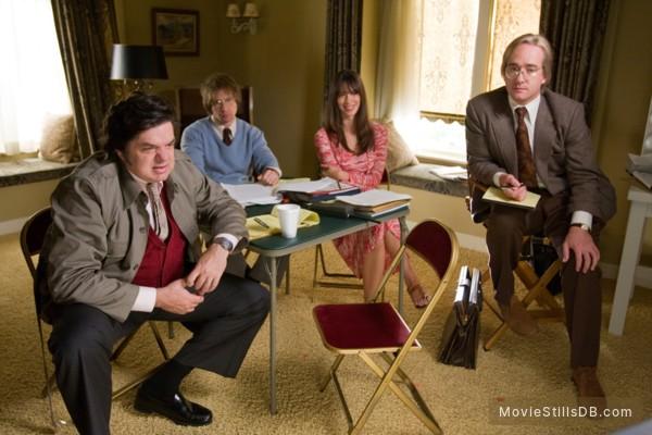 Frost/Nixon - Publicity still of Matthew Macfadyen, Oliver Platt, Rebecca Hall & Sam Rockwell