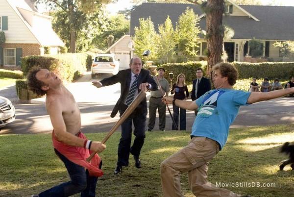 Step Brothers - Publicity still of John C. Reilly, Will Ferrell & Richard Jenkins