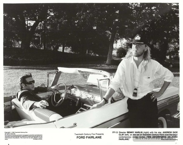 The Adventures of Ford Fairlane - Lobby card with Andrew Dice Clay & Renny Harlin