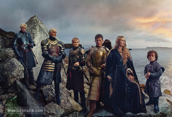 Game of Thrones - Promotional art with Peter Dinklage, Charles Dance, Jack Gleeson, Lena Headey, Nikolaj Coster-Waldau & Gwendoline Christie