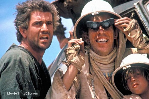Mad Max Beyond Thunderdome - Publicity still of Mel Gibson