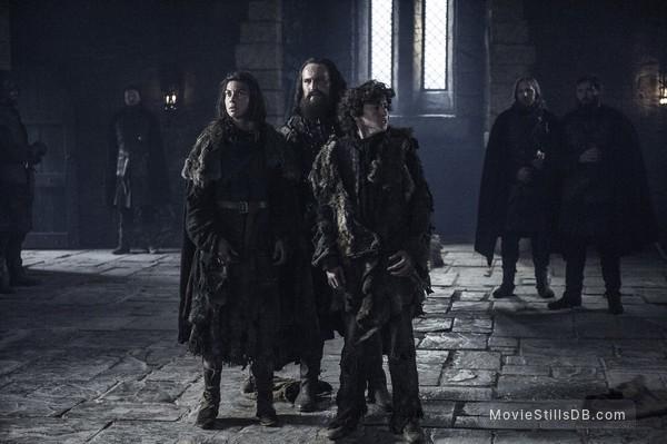 Game of Thrones - Publicity still of Natalia Tena & Art Parkinson