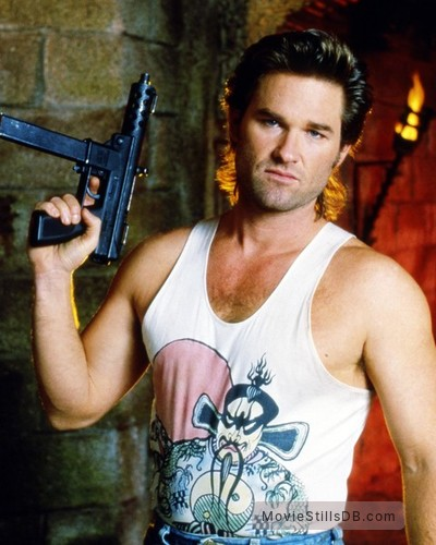 Big Trouble In Little China - Publicity still of Kurt Russell