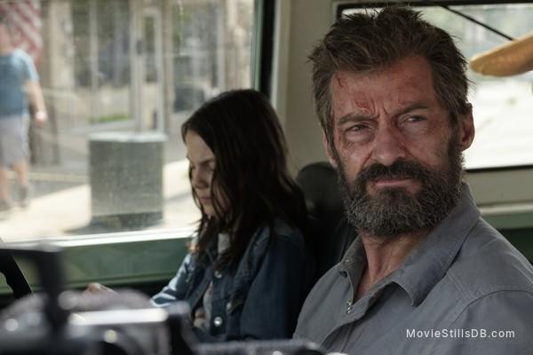 Logan - Publicity still of Hugh Jackman & Dafne Keen