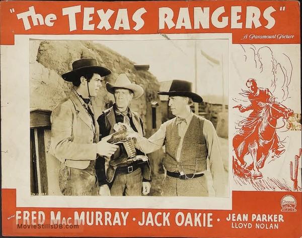 The Texas Rangers - Lobby card