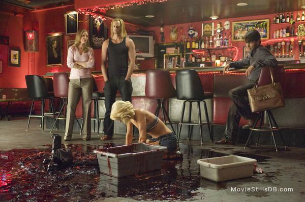 True Blood - Publicity still of Kristin Bauer van Straten, Alexander Skarsgård & Stephen Moyer