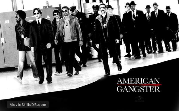 American Gangster - Wallpaper with Russell Crowe & Josh Brolin