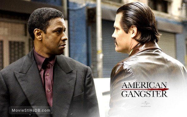 American Gangster - Wallpaper with Denzel Washington & Josh Brolin