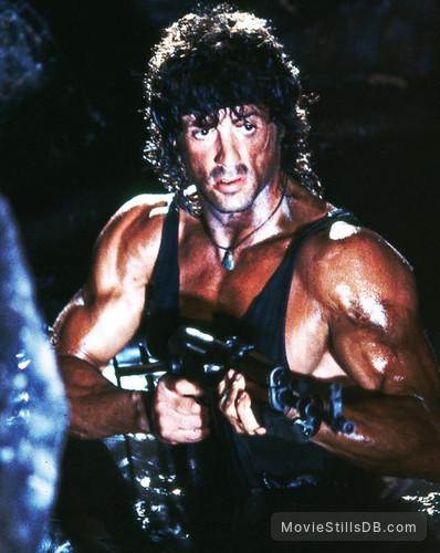 Rambo Iii Publicity Still Of Sylvester Stallone