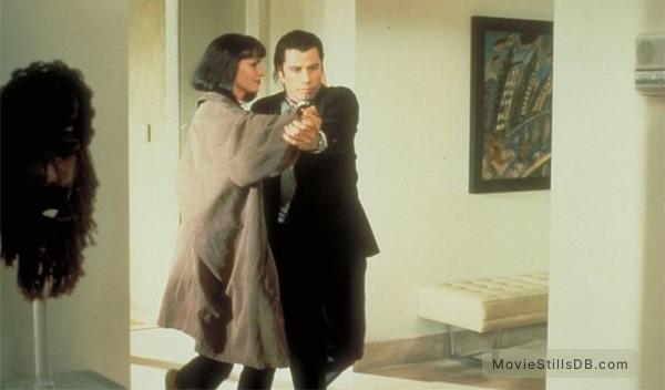 Pulp Fiction - Publicity still of Uma Thurman & John Travolta