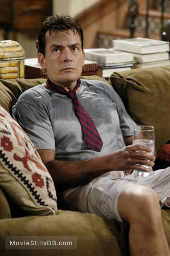 Two and a Half Men - Publicity still of Charlie Sheen