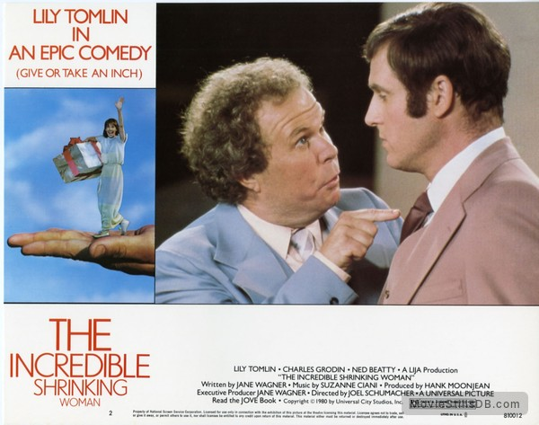 The Incredible Shrinking Woman - Lobby card with Ned Beatty & Charles Grodin