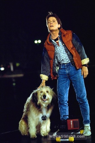Back to the Future - Publicity still of Michael J. Fox