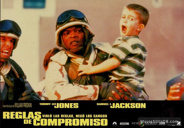 Rules of Engagement - Lobby card with Samuel L. Jackson
