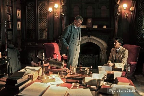 The Man Who Knew Infinity - Publicity still of Jeremy Irons & Dev Patel