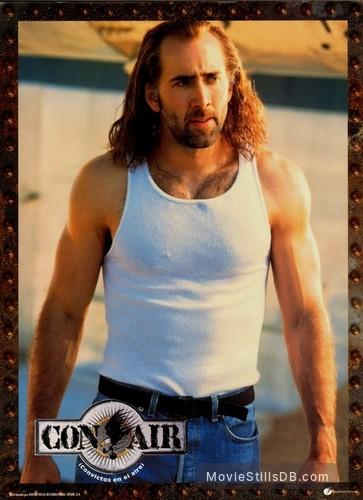 Con Air Lobby Card With Nicolas Cage