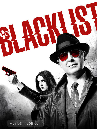 The Blacklist - Promotional art with James Spader & Megan Boone