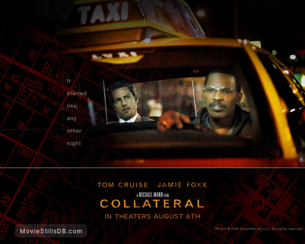 Collateral Wallpaper With Jamie Foxx Tom Cruise