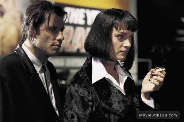 Pulp Fiction - Publicity still of John Travolta & Uma Thurman