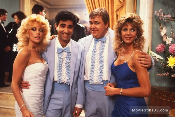 Armed and Dangerous - Publicity still of John Candy, Eugene Levy & Judy Landers