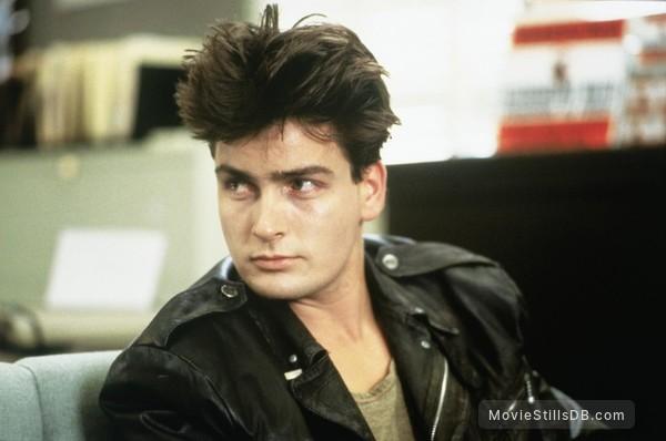 Ferris Bueller's Day Off - Publicity still of Charlie Sheen