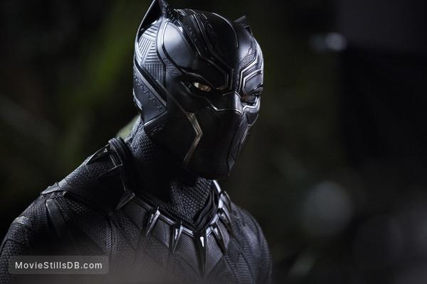 Black Panther - Publicity still of Chadwick Boseman