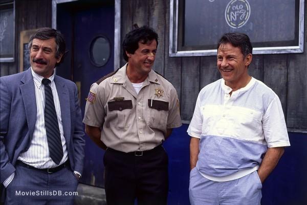 Cop Land - Publicity still of Sylvester Stallone, Robert De Niro & Harvey Keitel