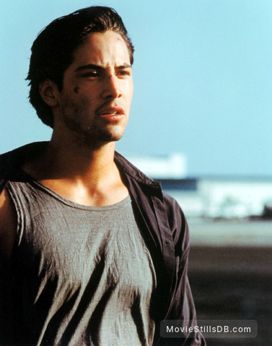 Point Break - Publicity still of Keanu Reeves