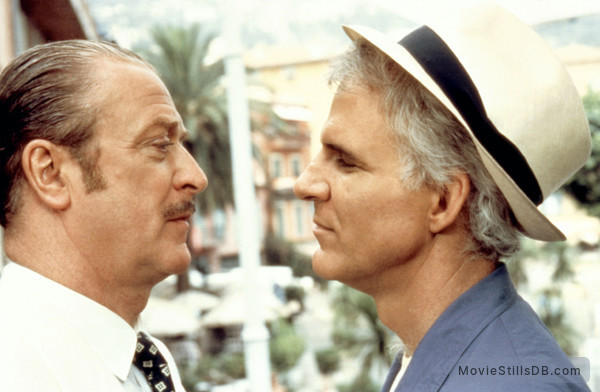 Dirty Rotten Scoundrels - Publicity still of Steve Martin & Michael Caine