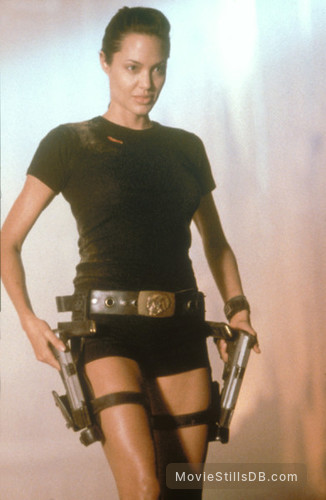Lara Croft: Tomb Raider - Publicity still of Angelina Jolie