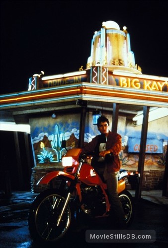 The Wraith - Publicity still of Charlie Sheen