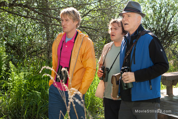 The Big Year - Publicity still of Owen Wilson, Jack Black & Steve Martin