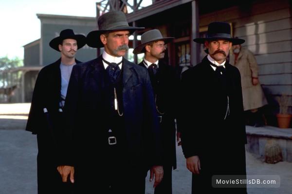 Tombstone - Publicity still of Kurt Russell, Val Kilmer, Sam Elliott & Bill Paxton