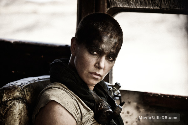 Mad Max: Fury Road - Publicity still of Charlize Theron