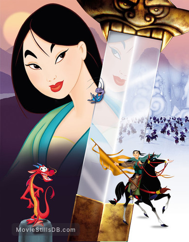 Mulan - Promotional art