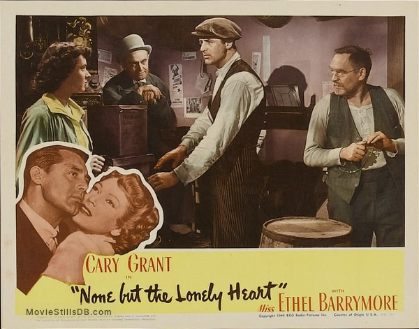 e8f4d015c None But the Lonely Heart - Lobby card with Jane Wyatt & Barry ...